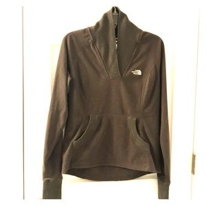 North Face Fleece in Mocha/Chocolate Brown